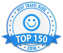 Top 150 travel blogs