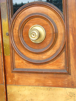 Art Deco Door in downtown Sarasota