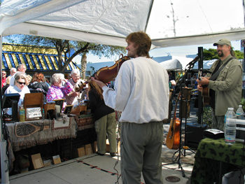 Street Music in Sarasota, Florida