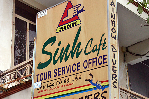 Sinh Cafe bus tour of Vietnam