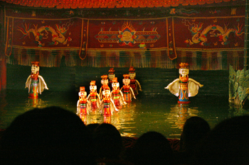 The unique Vietnamese art of Water Puppetry