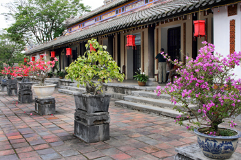 Courtyard at the Forbidden Purple Palace