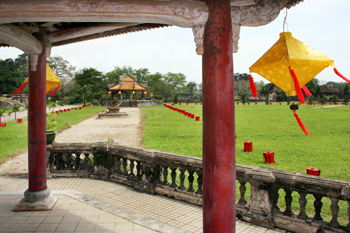 Pagoda on the grounds of the Forbidden Purple Palace