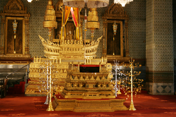 The Audiencee Hall at the Phra Monthian Group in Bangkok