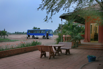 Traveling overland from the border of Thailand to Siem Reap, Cambodia