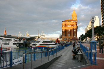 Auckland waterfront New Zealand