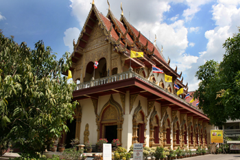 Wat Pan On in Chiang Mai, Thailand