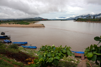 The Golden Triangle, where Thailand, Laos, and Burma meet, was once famous for the production of opium