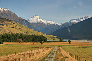Upper Clutha Valley New Zealand