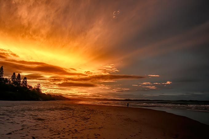 Another gorgeous sunset at Byron Bay