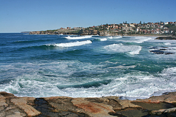 Tamarama and Bronte beaches, Sydney Australia