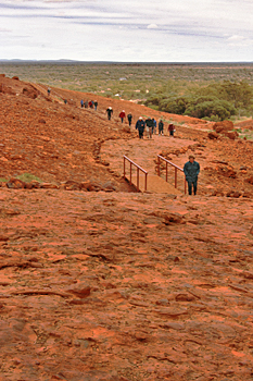 Olga Gorge Walk at Kata Tjuta Australia