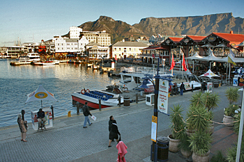 Waterfront in Cape Town, South Africa