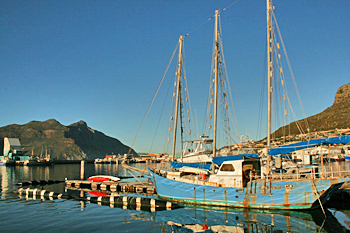 Hout Bay on South Africa's southern peninsula
