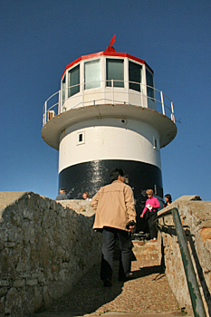 The lighthouse at Cape Point South Africa