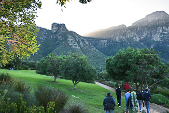 Kirstenbosch Botanical Gardens south of Cape Town South Africa