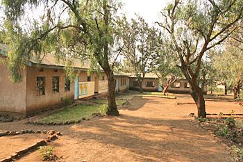 Maasai school in Monduli Juu Tanzania