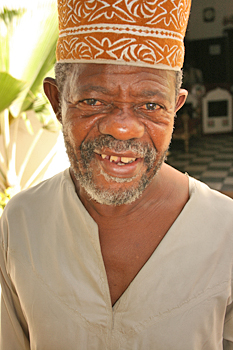 Another smiling face in StoneTown Zanzibar