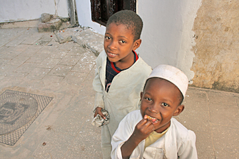 Kids were all so cute in Zanzibar