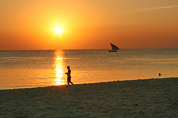 Another gorgeous Zanzibar sunset