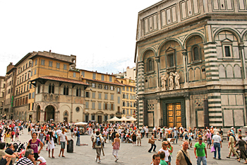 Santa Maria Del Fiore Cathedral in Florence Italy