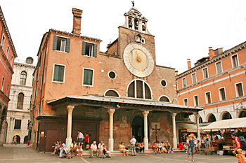 San Giacomo Di Rialto Church in Venice Italy