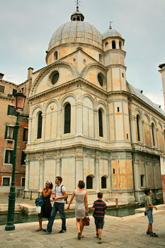 Santa Maria Dei Miracoli Church in Venice Italy