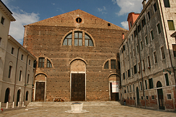 San Lorenzo Church in Venice Italy