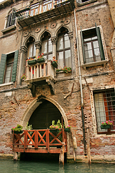 Marco Polo's house in Venice Italy