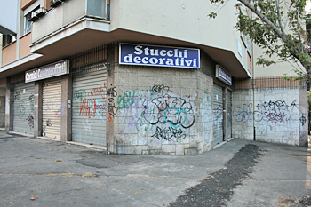 Rome Italy has a serious graffiti problem