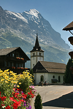 Perfect scenery in Grindewald Switzerland
