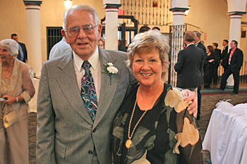 My handsome Dad William Weibel and lovely Aunt Kay MacDonald