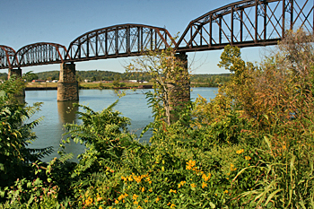 Bridge over the Ohio River, Point Pleasant, West Virginia