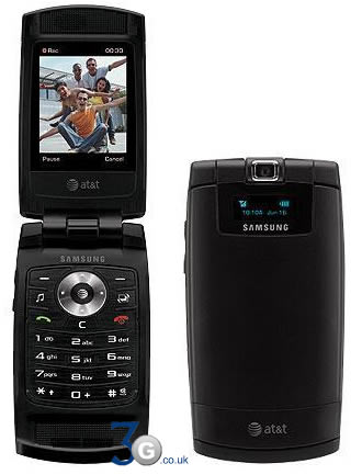 AT&T Samsung cell flip phone