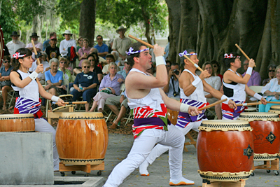 Taiko Japanese Drumming