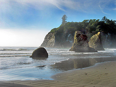 Olympic National Park Washington State Ruby Beach