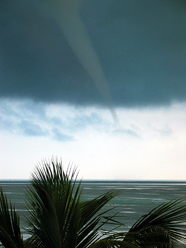 Waterspout off Islamorada, Florida Keys