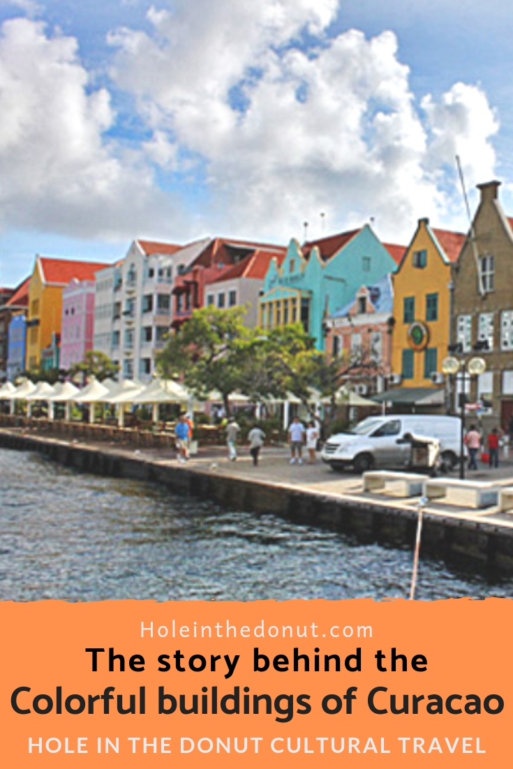 But for a headache, the colorful buildings on the Curacao waterfront might still be stark white, rather than painted in rainbow colors. #Caribbean