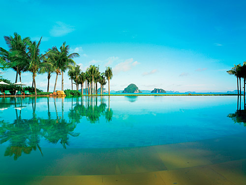 Phulay Bay Resort Pool landscape