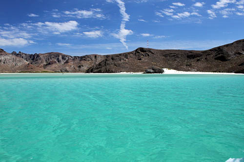 Beaches of La Paz Mexico