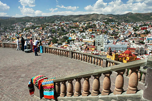 Guanajuato from the overlook at Pipila Monument