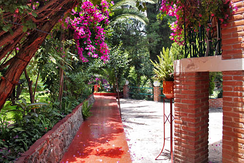Stunning grounds of the Posada de Tequisquiapan