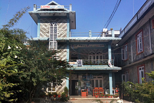 Karma Guest House at Pokhara in Nepal