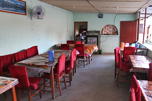 Pokhara Kitchen and Restaurant; not fancy but good Nepali and Indian food and plenty of it!