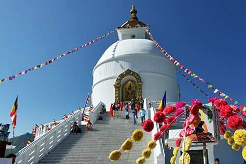 World Peace Pagoda, one of the Most Beautiful Places of Pokhara