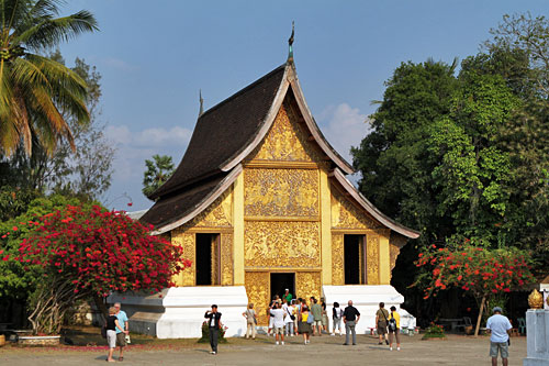 Carriage House at Wat Xieng Thong