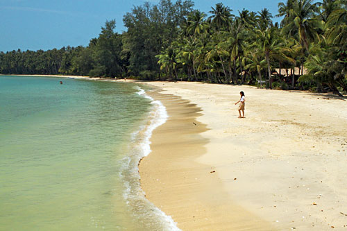 Beautiful, uncrowded beaches of Koh Mak, Thailand