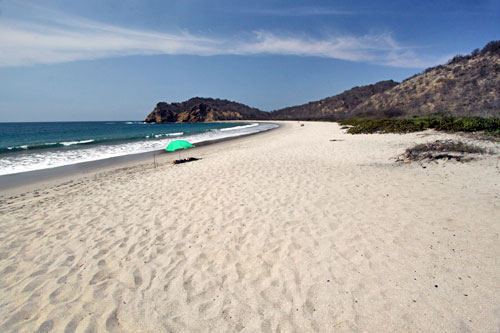 Los Frailes Beach in Machalilla National Park