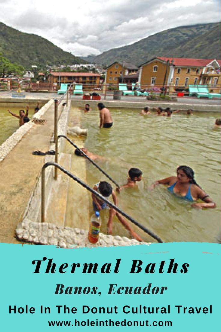 Miracle Cure in the Thermal Baths of Baños, Ecuador