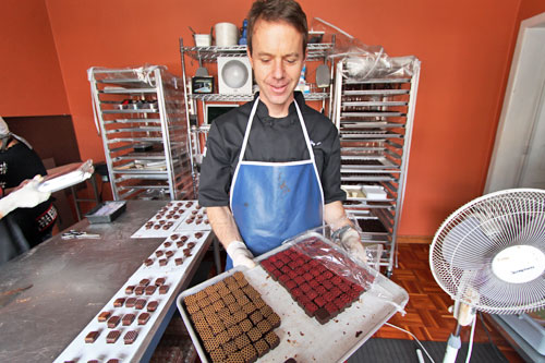 Ecuador produces the world's finest chocolate